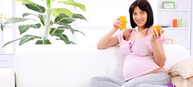 Pomarańcze w czasie ciąży
