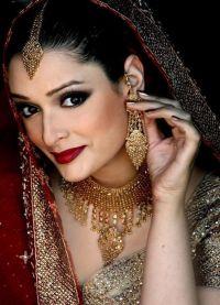 Orientalny makijaż dla zielonych oczu 3