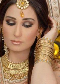 Orientalny makijaż na zielone oczy 5
