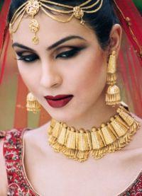 Orientalny makijaż na zielone oczy 8