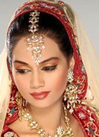 Orientalny makijaż na zielone oczy 9