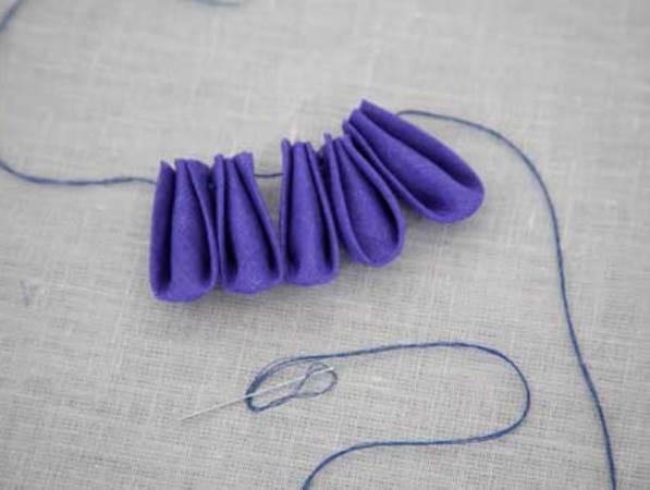 DIY biżuteria do włosów 13