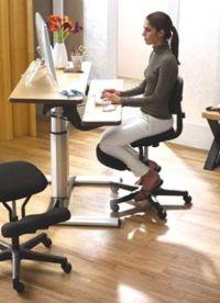 ortopedyczne krzesła komputerowe 1
