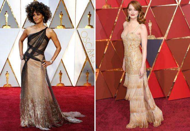 Najlepsze sukienki na czerwonym dywanie Oscar 2017