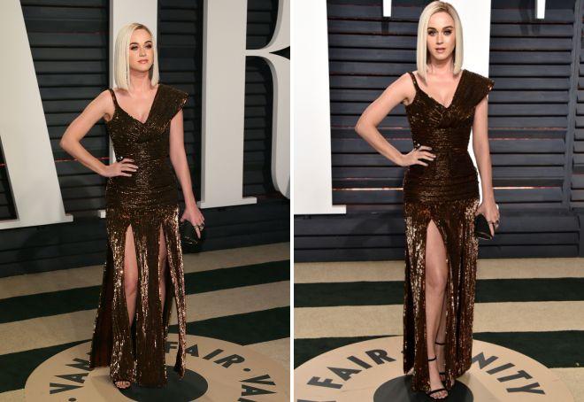 Sukienka Katy Perry na Oscara 2017 była powodem zakłopotania