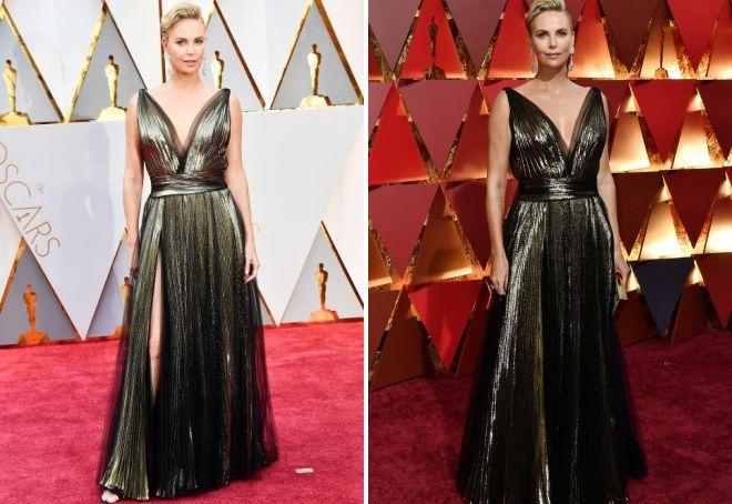 Ubierz Charlize Theron w greckim stylu na Oscar 2017