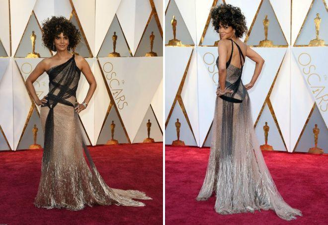 Niezwykła sukienka od Halle Berry na Oscar 2017