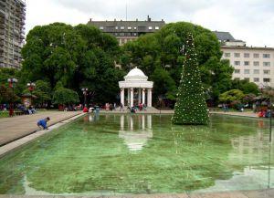 Парк Пласа де Армас - сердце города