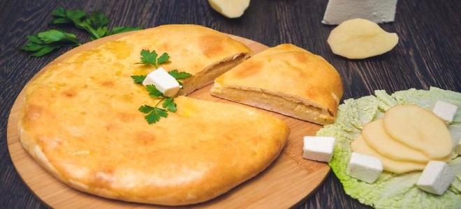 Osetyjskie ciasto z serem