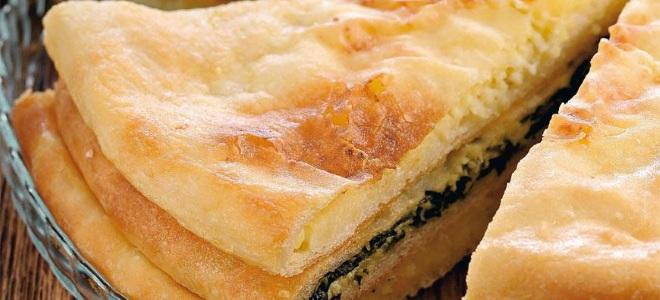 Osetyjskie ciasto z serem Adygei