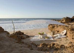 На пляжах Уалидии часто устраивают романтические пикники