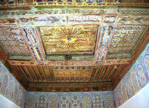 Taourirt Kasbah - роспись внутри