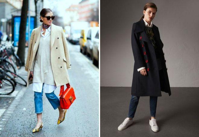 модные плащи осень 2017
