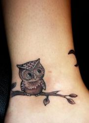 Owl Tattoo Znaczenie