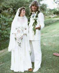 Свадьба Озии и Шэрон в 1982 году