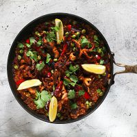 Paella morski pesek klasični recept