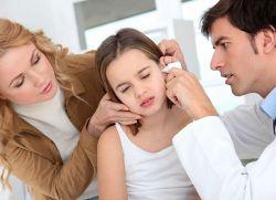 Бол у ухо детета