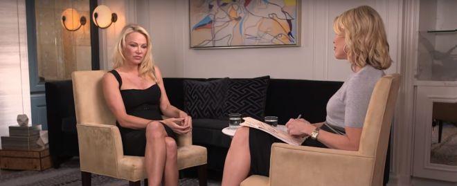 Эпизод из интервью с актрисой