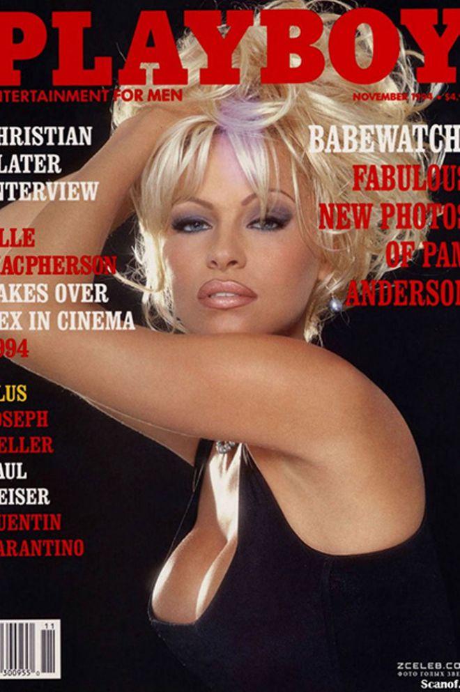 Памела Андерсон на обложке Playboy