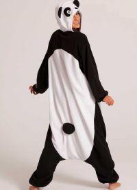 piżama panda2