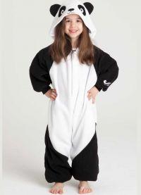 piżama panda9
