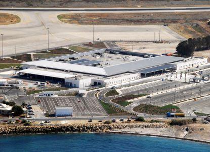 Аэропорт в Пафосе - вид сверху