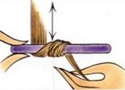 Jak nawijać włosy na papilotki 2