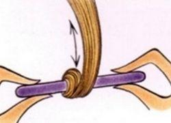 Jak nawijać włosy na papilotki 3
