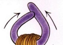 Jak nawijać włosy na papilotki 4
