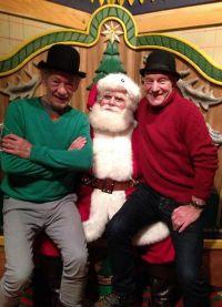 Патрик Стюарт и его друг Иэн МакКеллен всегда готовы повеселиться