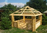 Paviljoni iz lesa za kočo1