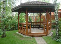 Paviljoni iz lesa za kočo 3