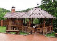 Paviljoni iz lesa za dacha8