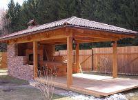 Paviljoni iz lesa za kočo 9