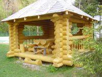 Pawilony wykonane z drewna5