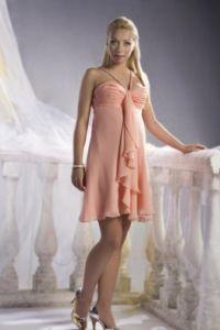 Peach Dress 1