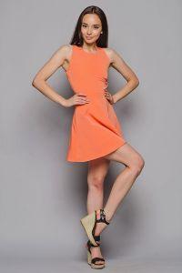 Peach Dress 2