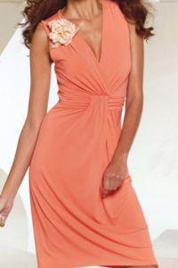 Peach Dress 4
