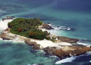 Мелкий остров архипелага