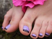 Pedicure french11