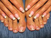 Pedicure french3