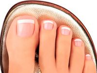 Pedicure french4