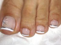 Pedicure french6