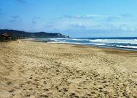 пляж на полуострове Санта Елена