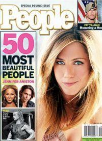 Впервые  Энистон попала в список самых красивых женщин журнала People в 2004 год