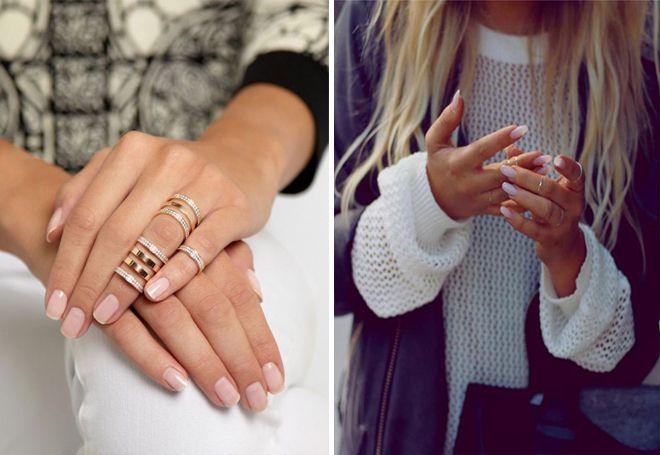 Злато фаланкс прстенови