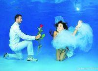 fotografování ve vodě v oblečení 1
