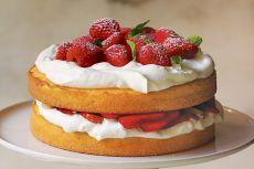 Suchy tort galaretkowy