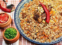 рецепт узбекског пилафа са јагњетином у коштици