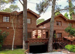Типичный дом в Пинамаре